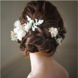 Flower Hair Parts